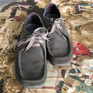 Clark's Suede Loafers